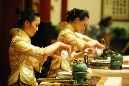 Resultado de imagem para cerimonia do cha na china